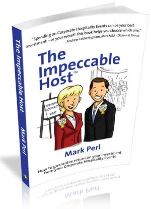 Mark Perl's The Impeccalbe host and the Impeccable Planner. Influencing skills, business networking, corporate entertainment, bulding relationships